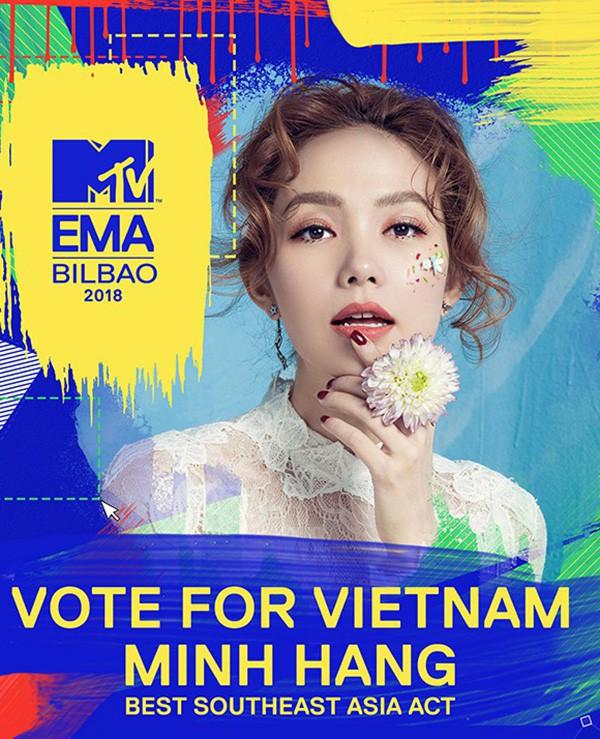 """Sau khi bị """"ném đá"""", Minh Hằng trượt giải tại MTV EMA 2018 - Ảnh 2."""