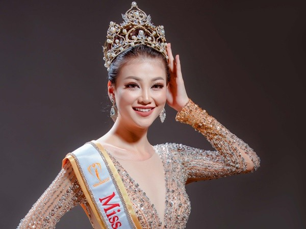 Bất ngờ với thân thế thật sự của tân Hoa hậu Trái đất Nguyễn Phương Khánh - Ảnh 1.