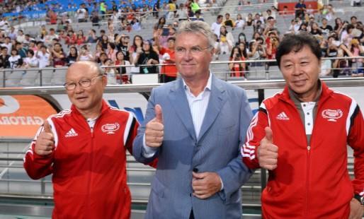 U23 Việt Nam đối diện nguy cơ rơi vào bảng tử thần, HLV Park Hang-seo có thể đấu sếp cũ - Ảnh 1.
