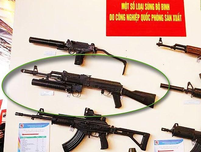 Súng trường tấn công kết hợp Galil ACE và AKM độc nhất vô nhị của Việt Nam - Ảnh 1.
