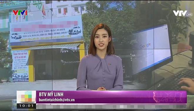 Dở khóc dở cười với Hoa hậu Đỗ Mỹ Linh khi lần đầu lấn sân sang làm biên tập viên trên kênh truyền hình quốc gia - Ảnh 2.