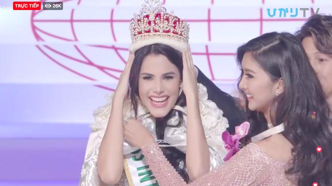 Người đẹp Venezuela đăng quang, đại diện Việt Nam trắng tay tại Hoa hậu Quốc tế 2018 - ảnh 1