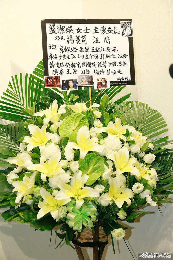 Tang lễ Lam Khiết Anh: Trương Vệ Kiện buồn bã, chị gái lặng người trước di ảnh xinh đẹp của nữ diễn viên - Ảnh 17.