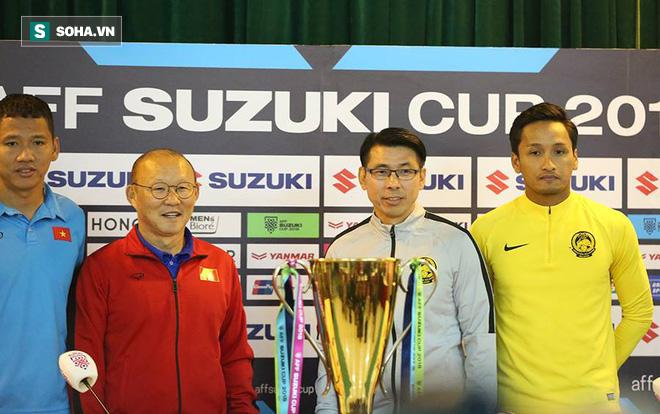 """Trước đại chiến, thầy Park đáp trả cáo buộc """"đá xấu"""", gây chấn thương cho cầu thủ Malaysia - Ảnh 1."""