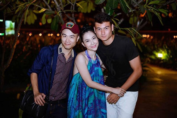 Chị họ Lâm Tây: Là mỹ nhân đình đám, thường được thủ môn tuyển Việt Nam hộ tống  - Ảnh 6.