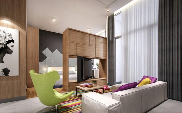 Phòng khách đẹp hiện đại, hấp dẫn người nhìn  - Ảnh 11.