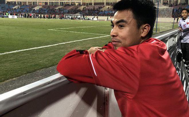 Đức Huy và sự thay đổi qua từng bức ảnh: Từ cậu bé nhặt bóng thành tuyển thủ vô địch AFF Cup - Ảnh 1.