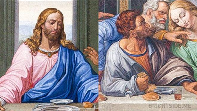 Bí mật trong Bữa ăn tối cuối cùng - tuyệt phẩm hội họa của thiên tài toàn năng Da Vinci - Ảnh 2.