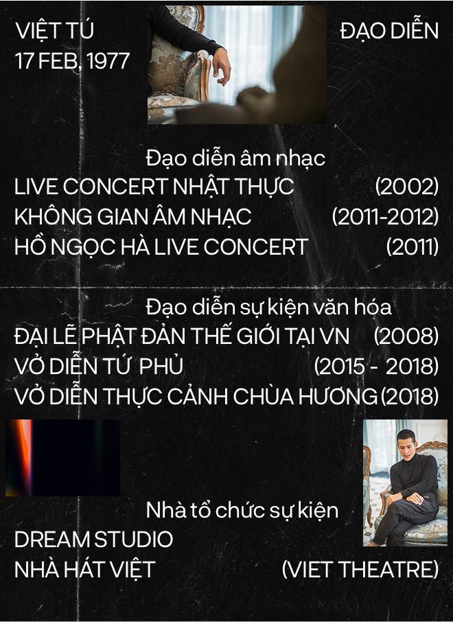 Đạo diễn Việt Tú: Người làm nghệ thuật chỉ có một con đường, đó là thành công - Ảnh 3.