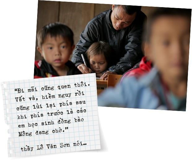 """Thầy giáo Tri Lễ 4: Hành trình """"cõng chữ lên non"""" đầy gian khó và những nỗ lực đã được đáp đền - Ảnh 5."""