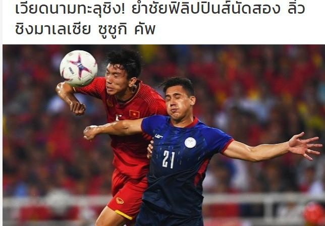 Báo Thái Lan: Việt Nam đã giành chiến thắng vàng! - Ảnh 1.