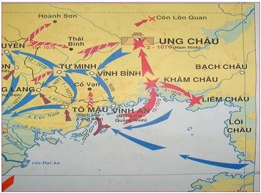 Lý Thường Kiệt dẫn 10 vạn quân công phá thành Ung Châu, tướng giặc tự tử - Ảnh 1.