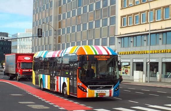 Luxembourg sẽ là quốc gia đầu tiên trên thế giới miễn phí mọi phương tiện giao thông công cộng.