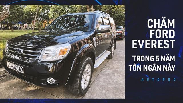 """""""Nuôi"""" xe 5 năm, lăn bánh gần 110.000 km khắp cả nước, người dùng tiết lộ độ trâu của Ford Everest đời cũ - Ảnh 1."""
