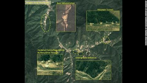 """Truyền thông Mỹ đăng ảnh """"căn cứ tên lửa bí mật"""" của Triều Tiên - Ảnh 1."""