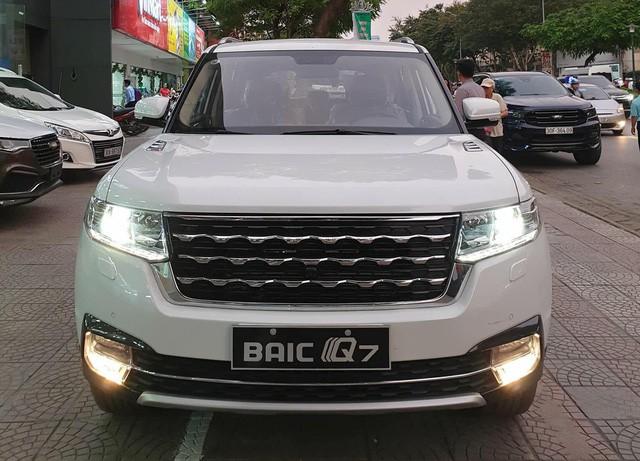BAIC Q7 - SUV Trung Quốc nhái Range Rover giá 658 triệu đồng tại Việt Nam - Ảnh 1.