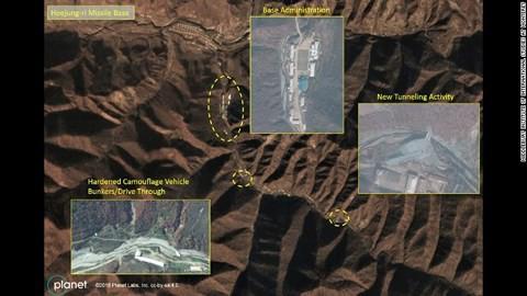 """Truyền thông Mỹ đăng ảnh """"căn cứ tên lửa bí mật"""" của Triều Tiên - Ảnh 2."""