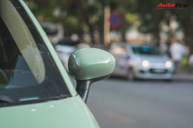 Fiat 500 xanh bạc hà - Xe hiếm chơi màu độc tại Hà Nội - Ảnh 7.