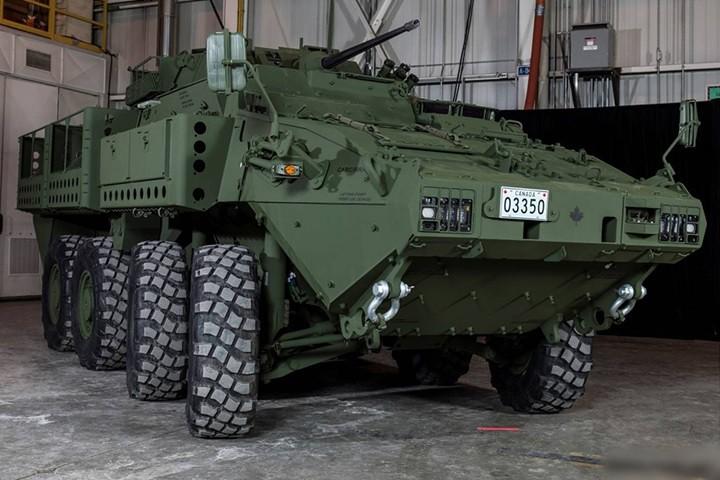 Cận cảnh xe thiết giáp chở quân LAV 6.0 được bảo vệ cực tốt của Canada - Ảnh 2.