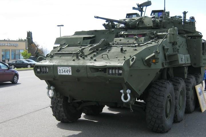 Cận cảnh xe thiết giáp chở quân LAV 6.0 được bảo vệ cực tốt của Canada - Ảnh 3.