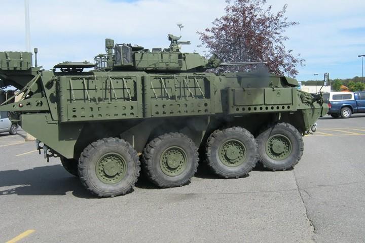 Cận cảnh xe thiết giáp chở quân LAV 6.0 được bảo vệ cực tốt của Canada - Ảnh 4.
