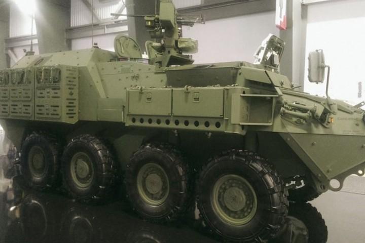 Cận cảnh xe thiết giáp chở quân LAV 6.0 được bảo vệ cực tốt của Canada - Ảnh 5.