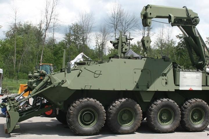 Cận cảnh xe thiết giáp chở quân LAV 6.0 được bảo vệ cực tốt của Canada - Ảnh 6.