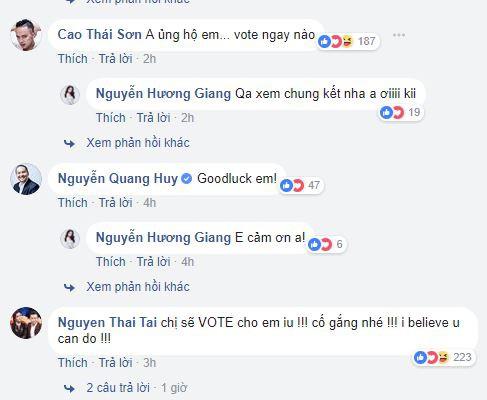 Sao Việt ủng hộ khi biết tin Hương Giang Idol thi Hoa hậu Chuyển giới tại Thái Lan - Ảnh 2.