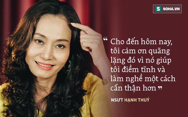 Hạnh Thuý 8 năm mặc cảm, không dám nhận là học trò Minh Nhí: Cú điện của thầy làm tôi tỉnh ngộ - ảnh 1