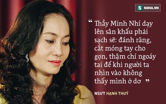 Hạnh Thuý 8 năm mặc cảm, không dám nhận là học trò Minh Nhí: Cú điện của thầy làm tôi tỉnh ngộ - ảnh 2