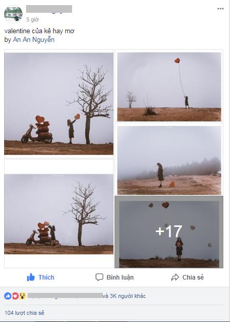 Kẻ hay mơ: Bộ ảnh được chia sẻ nhiều trong ngày Valentine 2018 - Ảnh 1.