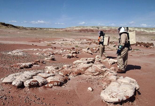 Các nhà khoa học đã mô phỏng lại môi trường Sao Hỏa ngay trên Trái Đất và sẽ... sống thử ở đó trong vòng một tháng - Ảnh 2.