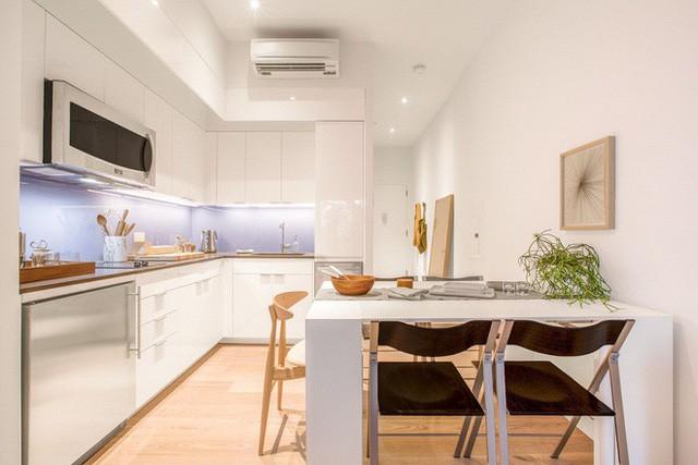 Diện tích chỉ khoảng 25m², căn hộ này đã khiến cho nhiều người không khỏi ngỡ ngàng vì sự tiện nghi của nó - Ảnh 7.
