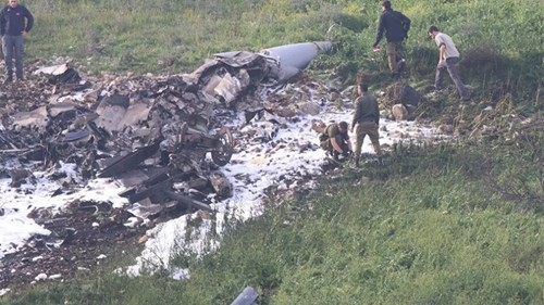 Syria đã sử dụng vũ khí nào để bắn hạ máy bay F-16I của Israel? - Ảnh 1.