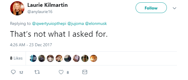 Một bà chị chỉ trích Elon Musk vì sao không dành tiền phóng tên lửa để đi từ thiện, ngay lập tức bị cư dân mạng lên án - Ảnh 12.