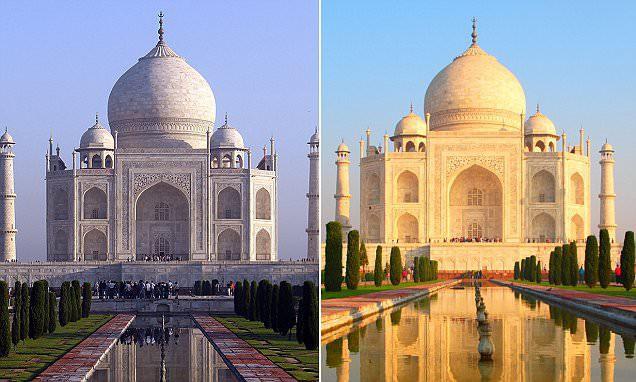 Lăng Taj Mahal biểu tượng của Ấn Độ đã chuyển thành màu vàng vì một lý do cực kỳ đáng ngại - Ảnh 3.