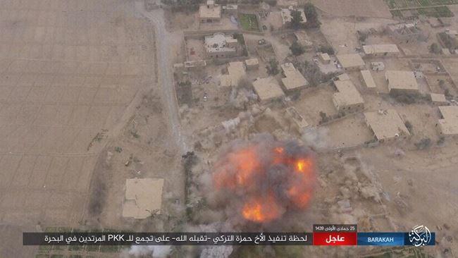 IS tấn công bằng xe bom tự sát, người Kurd thiệt hại nặng nề ở Deir Ezzor - Ảnh 4.
