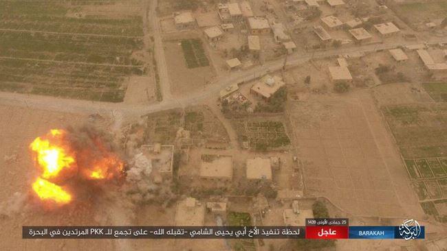 IS tấn công bằng xe bom tự sát, người Kurd thiệt hại nặng nề ở Deir Ezzor - Ảnh 8.