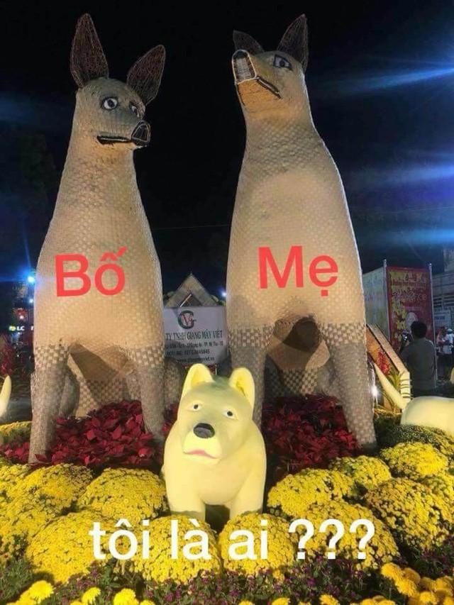 Biểu tượng chó ở đường hoa bị chê không giống chó: Đang tìm cách khắc phục - Ảnh 1.