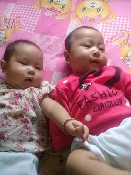 Cái Tết đầu tiên bên gia đình của cặp song sinh do người mẹ ung thư, giành giật sự sống để sinh thành - Ảnh 1.