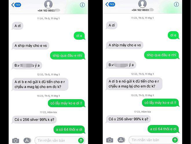 Vụ nữ học viên y tế lừa đảo, đánh tráo iPhone ở cổng viện: Chiếc iPhone giả giống thật cỡ nào? - Ảnh 4.