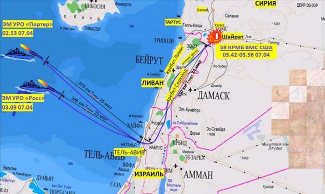 Mỹ tập kích Syria ồ ạt bằng tên lửa hành trình Tomahawk: Phòng không Syria đã ở đâu? - Ảnh 2.