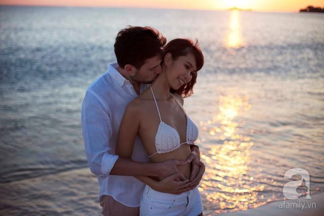 Hà Anh hạnh phúc mang thai tháng thứ 5: Ông xã là hoàng tử ngôn tình của tôi! - ảnh 9
