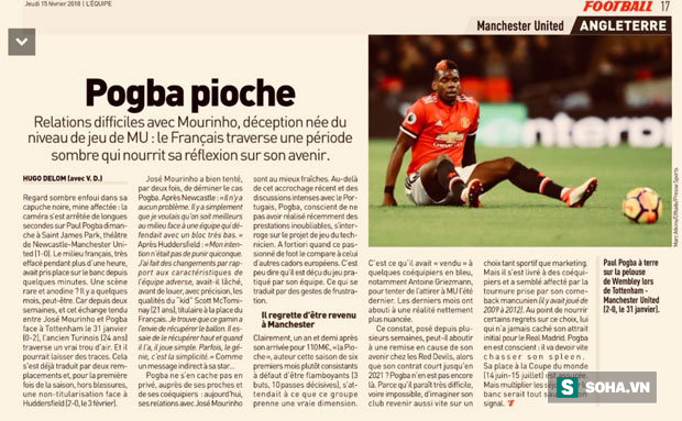 Pogba trơ tráo trở cờ: Mourinho chết điếng, Man United rúng động trong tâm bão - Ảnh 1.