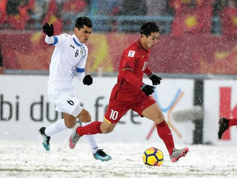 Bóng đá Việt Nam năm Mậu Tuất: Đòn bẩy từ kỳ tích U23 Việt Nam - Ảnh 1.