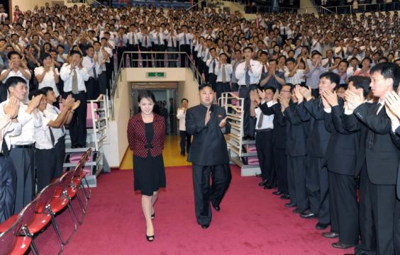 Đệ nhất phu nhân trâm anh thế phiệt của Triều Tiên từng là thành viên binh đoàn sắc đẹp? - Ảnh 1.