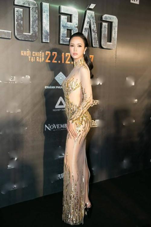 Sao Việt thích diện váy áo trong suốt dễ gây nguy hiểm, khiến người đối diện hoa cả mắt! - Ảnh 12.