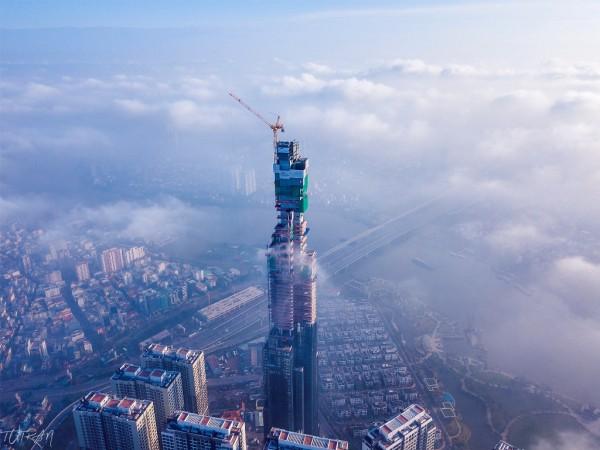 Toàn cảnh tòa tháp 81 tầng cao nhất Việt Nam của tỷ phú Phạm Nhật Vượng - Ảnh 4.