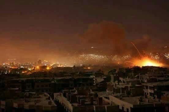 Nga-Syria mừng tuổi phiến quân bằng tất cả các loại hỏa lực ở đông Damascus: Chưa từng có - Ảnh 8.