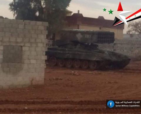 Nga-Syria mừng tuổi phiến quân bằng tất cả các loại hỏa lực ở đông Damascus: Chưa từng có - Ảnh 5.
